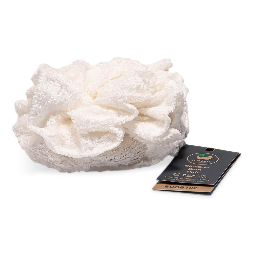 Eco Bath Co Bath Accessories Eco Bath - Bamboo Bath Pouf