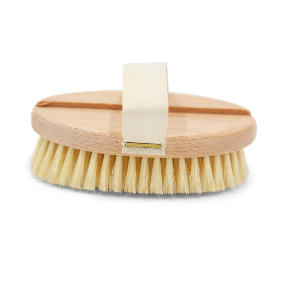 Eco Bath Co Bath Accessory Eco Bath Co Natural Bristle Body Brush (Soft)