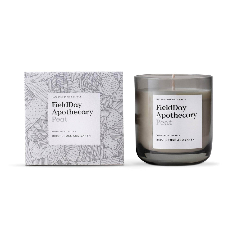 FieldDay Candles FieldDay Apothecary Candle 220g/45hrs - Peat