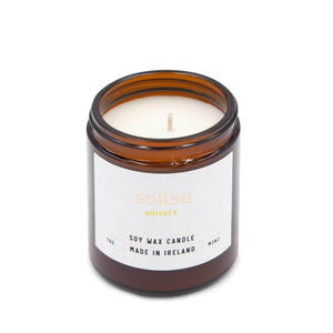 Soilse Candles Soilse Hand Poured Apothecary Candle - Soy Wax - Whiskey