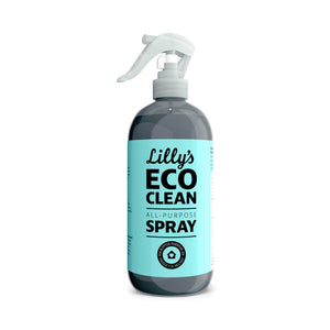 Lilly's Eco Clean Cleaning Detergent All-Purpose Clean Spray Cleaner Eucalyptus 500ml