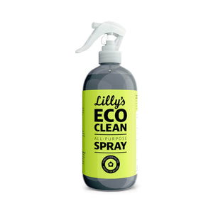 Lilly's Eco Clean Cleaning Detergent All-Purpose Spray Cleaner Citrus 500ml