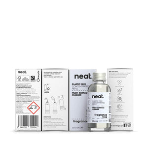 neat. Cleaning Detergents neat - Concentrated Multi-Surface Cleaner Refill - Fragrance Free