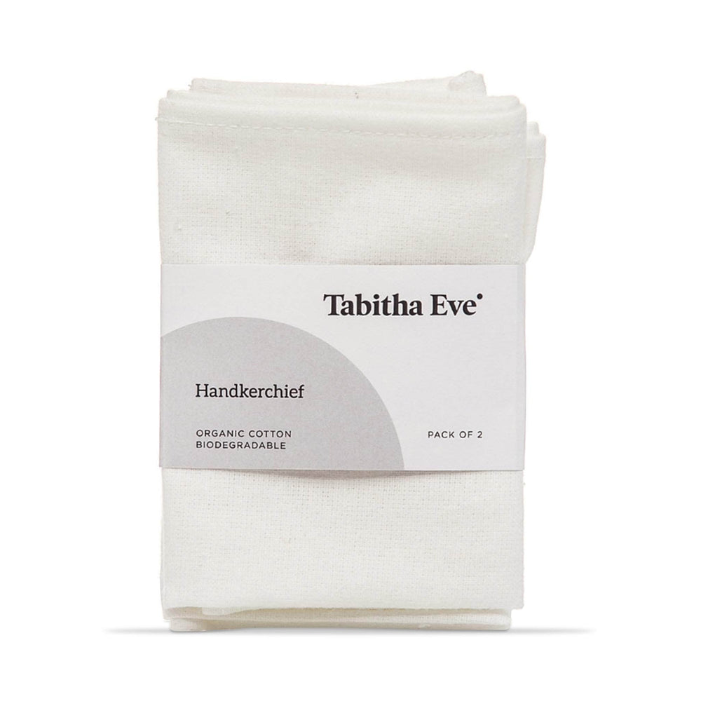 Load image into Gallery viewer, Tabitha Eve Cloths Tabitha Eve - Organic Cotton Handkerchiefs Set 2