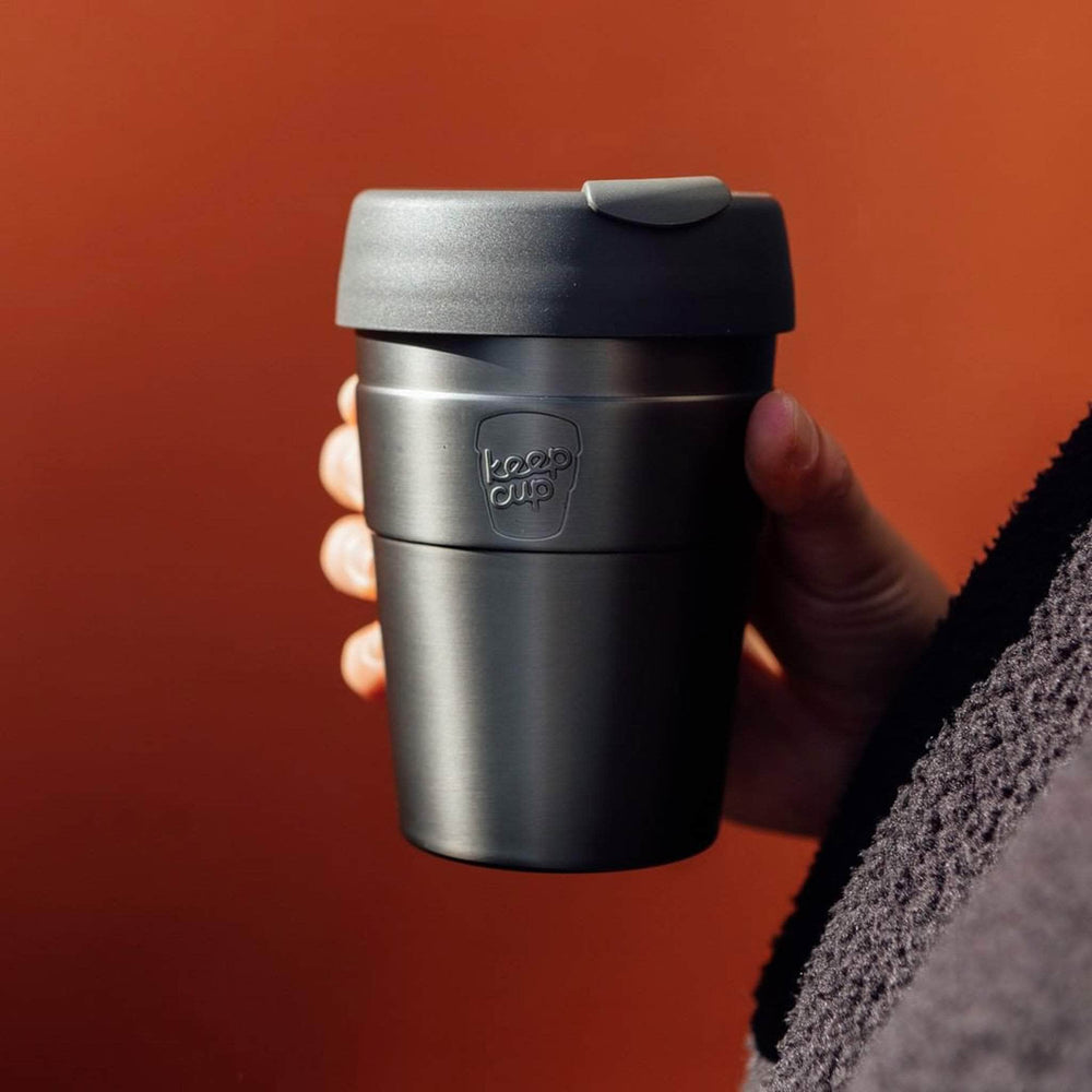 Keepcup Thermal Coffee Cups KeepCup Thermal Insulated Reusable Coffee Cup  12oz Med Nitro