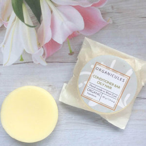 Organicules Conditioner Organicules Conditioner Bar in Compostable Bag - For Oily Hair - Rosemary, Peppermint & Cedarwood