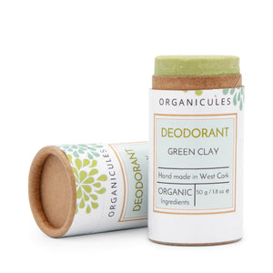 Load image into Gallery viewer, Organicules Deodorant Organicules Natural Deodorant - Green Clay