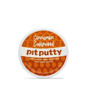 Pit Putty Deodorant Pit Putty Deodorant -Cinnamon & Cedarwood - Tester Mini 15gm