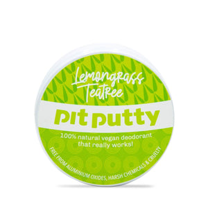Pit Putty Deodorant Pit Putty Deodorant - Plastic & Aluminium Free - Lemongrass & Tea Tree - 65gm