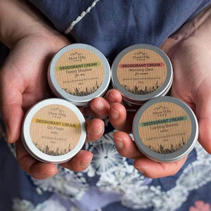 "Three Hill Soaps Deodorant Three Hills - Deodorant Cream ""Cooling Breeze"""