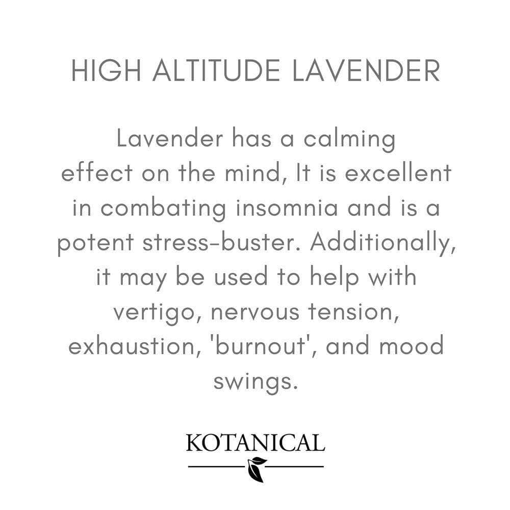 Kotanical Essential Oil High Altitude Lavender Oil 10ml