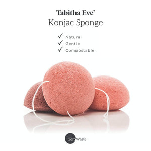 Load image into Gallery viewer, Tabitha Eve Facial Sponges Tabitha Eve - Konjac Face Sponge Pink Clay