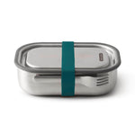 black + blum Stainless Steel Lunch Box - Leak Proof 3-in-1 - Ocean