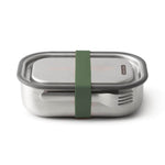 black + blum Stainless Steel Lunch Box - Leak Proof 3-in-1 - Olive