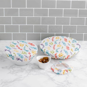 Tabitha Eve Food Covers Eucalyptus Tabitha Eve - Reusable Cotton Bowl Covers Set Of 3