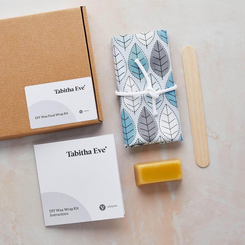 Tabitha Eve Food Wraps Leaves Tabitha Eve - DIY Make Your Own 'Vegan' Beeswax Wrap Kit