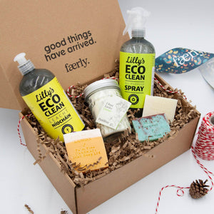 Load image into Gallery viewer, Faerly Gift Box Irish Makers Clean & Fresh Gift Set