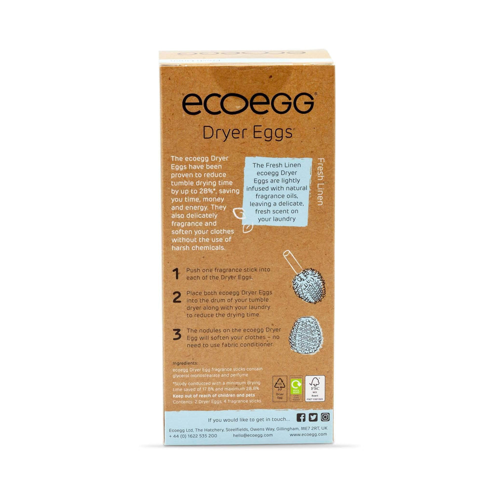 Eco Egg Laundry Eco Egg - Dryer Eggs - Fresh Linen