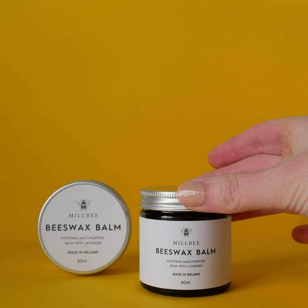 Load image into Gallery viewer, Bodhi Blends Lip Balm Millbee Beeswax Balm with Lavender 60ml