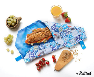 Roll N Eat Lunchboxes Roll N Eat - Boc N' Roll Patchwork - Mixed Colours