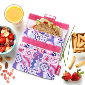 Roll N Eat Lunchboxes Roll N Eat - Snack N'go - Patchwork Mixed