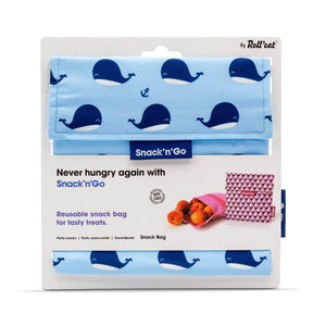 Roll N Eat Lunchboxes Whales Roll N Eat - Snack N'go - Kids Mixed