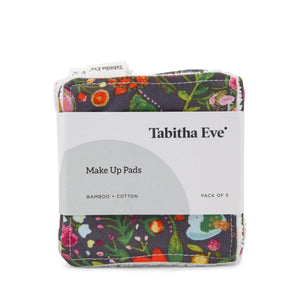 Tabitha Eve Make Up Flower Garden Tabitha Eve - Reusable Bamboo & Cotton Make Up Pads - Set of 5