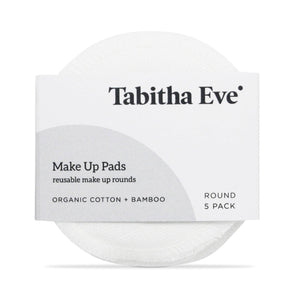 Load image into Gallery viewer, Tabitha Eve Make Up Tabitha Eve - Organic Cotton And Bamboo Makeup Rounds - Set 5