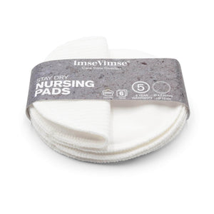 Imse Vimse Maternity Imse Vimse - Reusable Nursing Pads - Stay Dry - 3 Pack