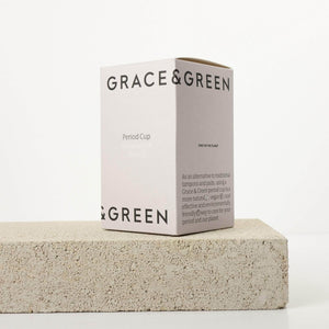 Load image into Gallery viewer, Grace & Green Sanitary Wear Grace & Green - Period Cup Size A Translucent