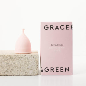 Grace & Green Sanitary Wear Grace & Green - Period Cup Size B Rosewater Pink