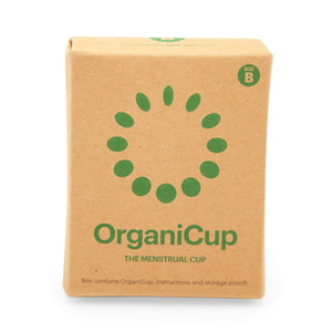 OrganiCup Sanitary Wear OrganiCup Menstrual Cup B-CUP