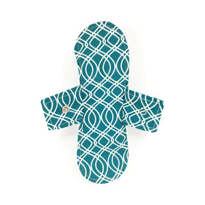 Tabitha Eve Sanitary Wear Short Tabitha Eve - Cotton Reusable Menstrual Pad - Trellis