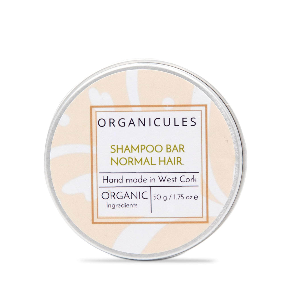Organicules Shampoo Organicules Shampoo Bar in Tin - For Normal Hair - Mandarin, Patchouli, Sweet Orange & Bergamot