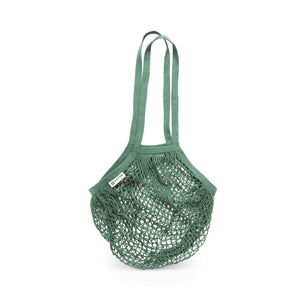 Turtle Bags Shopping Bags Turtle Bags - Longhandled String Bags - Bottle Green