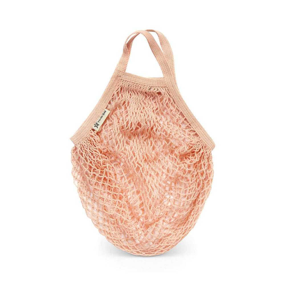 Turtle Bags Shopping Bags Turtle Bags - Shorthandled String Bags - Blush