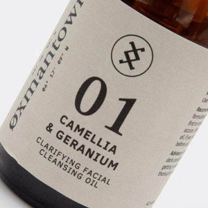 Load image into Gallery viewer, Oxmantown Skincare 01 Camellia & Geranium Clarifying Facial Cleansing Oil 100ml