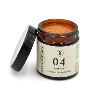Load image into Gallery viewer, Oxmantown Skincare 04 Pink Clay Exfoliating Face Mask 60ml