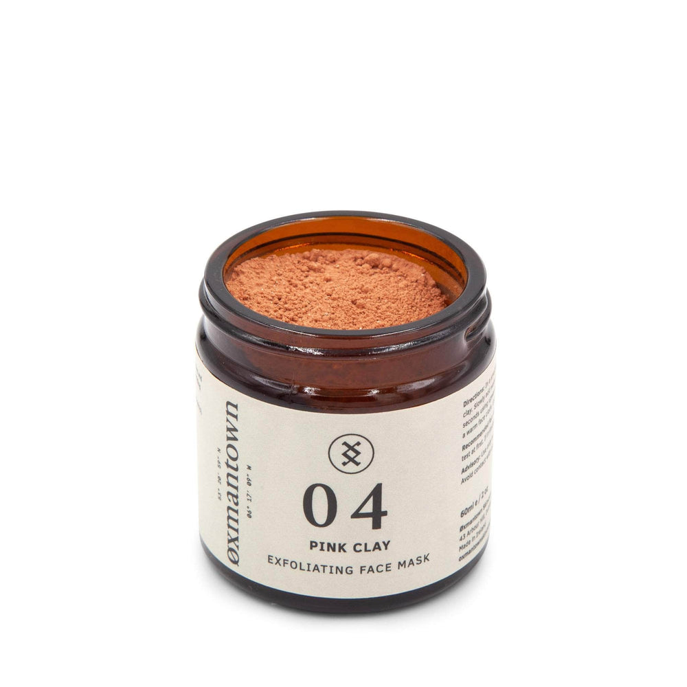 Oxmantown Skincare 04 Pink Clay Exfoliating Face Mask 60ml