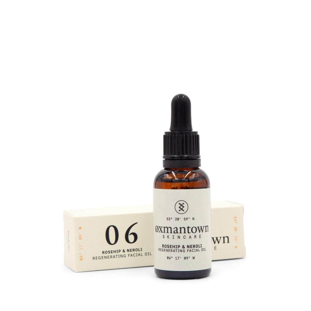 Load image into Gallery viewer, Oxmantown Skincare 06 Rosehip & Nerol Regenerating Facial Oil