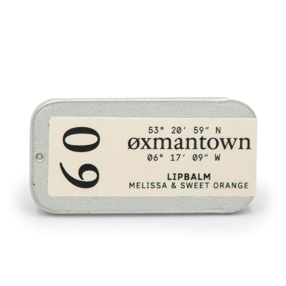 Oxmantown Skincare 09 Melissa & Sweet Orange Lip Balm 10ml