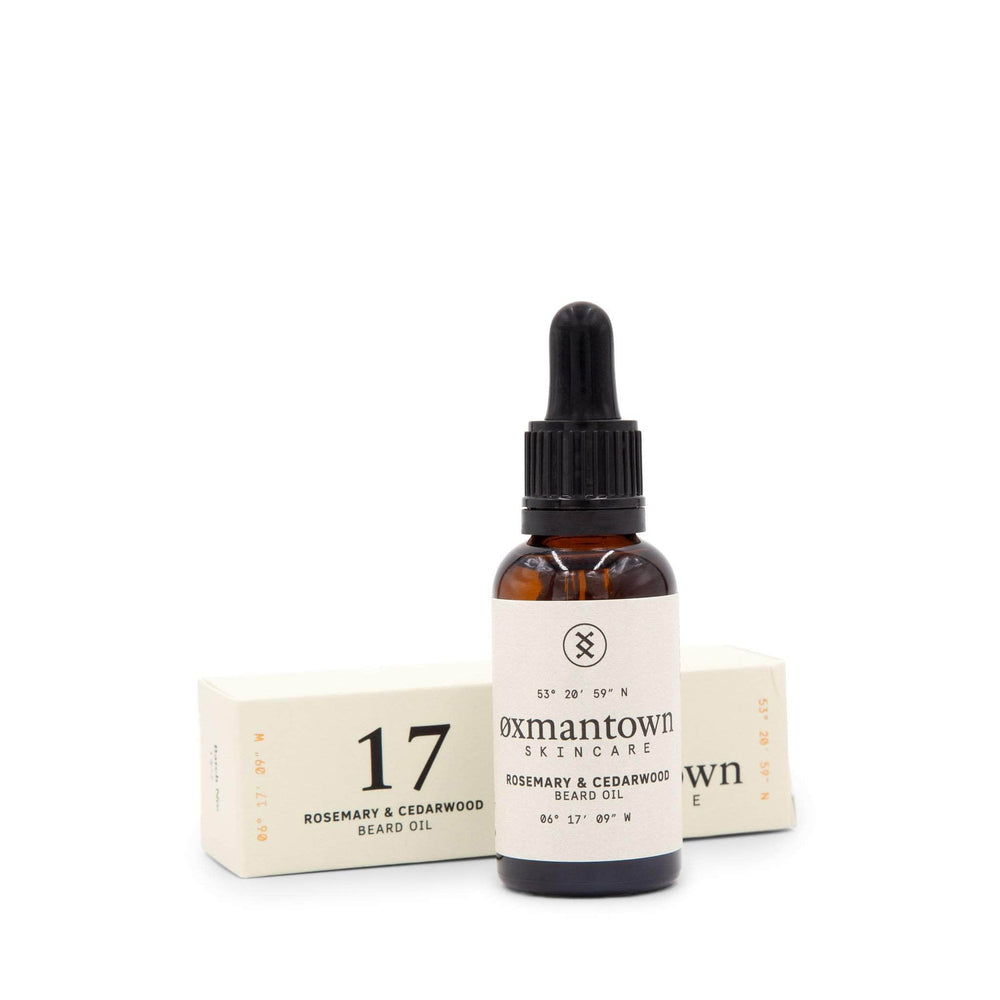 17 Rosemary & Cedarwood Beard Oil 30ml