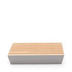 ecoLiving Beech Wood Soap Dish - Cloud