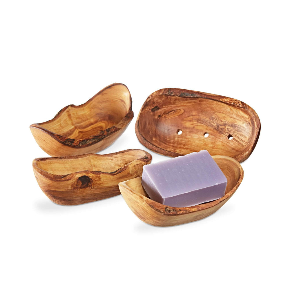 ecoLiving Soap Dishes Olive Wood Soap Dish - Rectangle