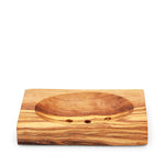 Olive Wood Soap Dish - Rectangle