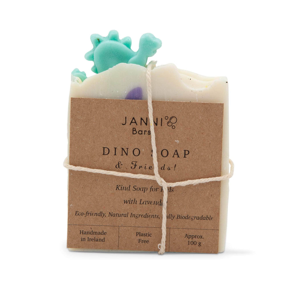 Load image into Gallery viewer, Janni Bars Soap Janni Bars Cold Pressed Soap - Dinosaur Soap