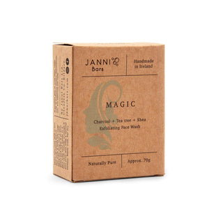 Janni Bars Soap Janni Bars Face Wash Bar - Magic