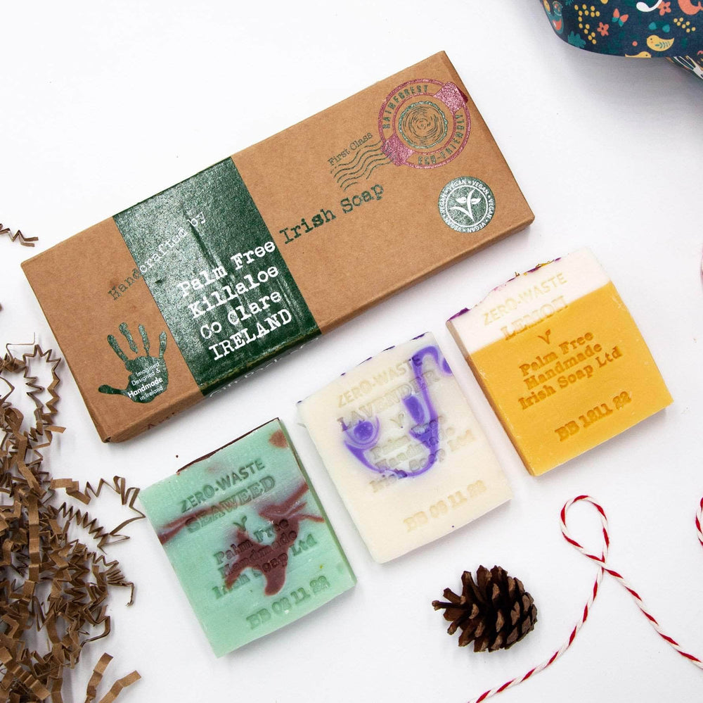 Palm Free Irish Soap Soap Palm Free Irish Soap Gift Box - 3 Bars