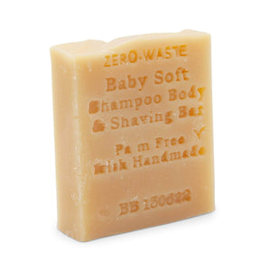 Palm Free Irish Soap Soap Palm Free Zero Waste Handmade Soap - Baby Soft Shampoo Bar
