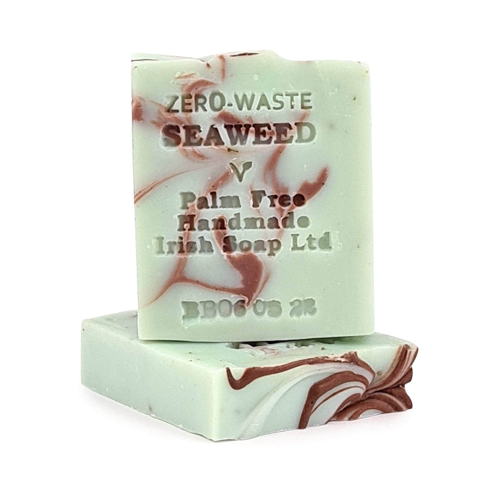Palm Free Zero Waste Handmade Soap Bars - Wild Irish Seaweed